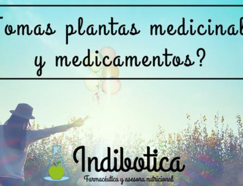 ¿Tomas plantas medicinales y medicamentos? Deberías leer esto!