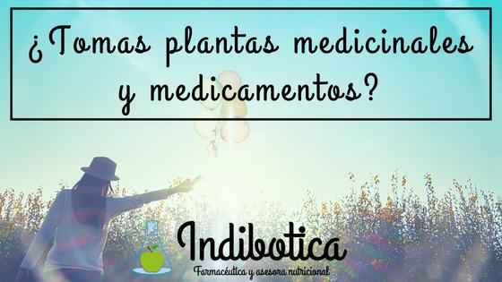 medicamentos y plantas medicinales